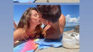 Selten: Vanessa Mai teilt Knutschpics mit ihrem Mann Andreas