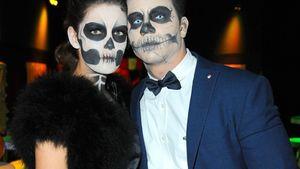 Gruseliges Zombie-Paar: GNTM-Vanessa zeigt ihren Freund