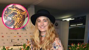 Verena Ofarim hat jetzt ein XL-Tiger-Tattoo für ihre Kinder!