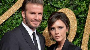 Victoria und David Beckham bei den British Fashion Awards