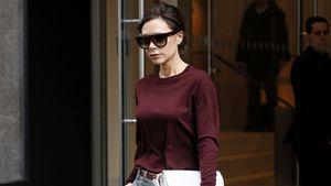 Victoria Beckham beim Verlassen ihres Hotels in New York.