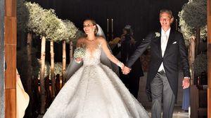 Victoria Swarovski & Werner Mürz auf ihrer Hochzeit in Triest
