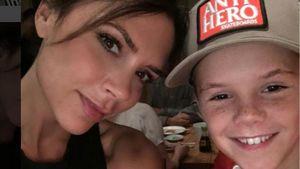 Victoria mit Sohn Cruz Beckham