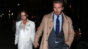 Victoria und David Beckham in New York