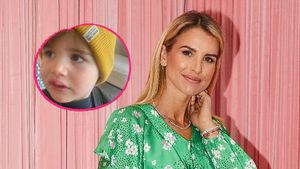 """""""Armer Kleiner"""": Vogue Williams' Sohn ist übel gestürzt!"""
