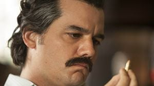 "Wagner Moura als Pablo Escobar in ""Narcos"""