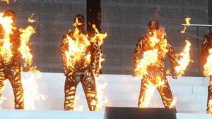 Feuriges Finale: Westlife-Jungs stehen in Flammen!