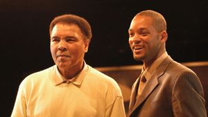 Muhammad Alis Beerdigung: Will Smith trägt den Sarg