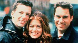 """Will&Grace""-Cast Sean Hayes, Debra Messing, Eric McCormack"