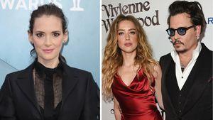 Häusliche Gewalt? Winona Ryder verteidigt Ex Johnny Depp