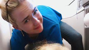 Hayden Panettiere mit ihrer Tochter Kaya