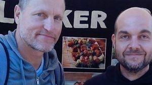 In Berlin: Woody Harrelson beim Vegan-Festival