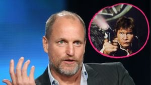 Woody Harrelson und Han Solo