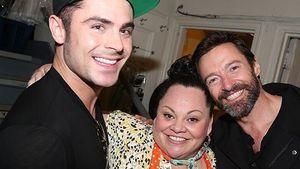 """Zac Efron und Hugh Jackman beim Musical """"Waitress"""""""