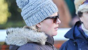 Zara Phillips und Prinzessin Anne