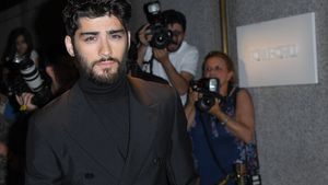 Zayn Malik auf der New York Fashion Week 2016