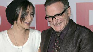 Zelda Williams mit ihrem Vater Robin Williams im Jahr 2009