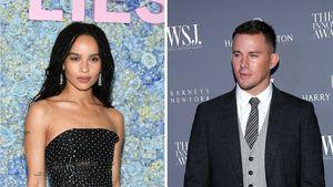 Flirt-Gerüchte: Was geht bei Zoe Kravitz und Channing Tatum?