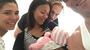 Zoe Saldana knuddelt Vin Diesels Tochter Pauline