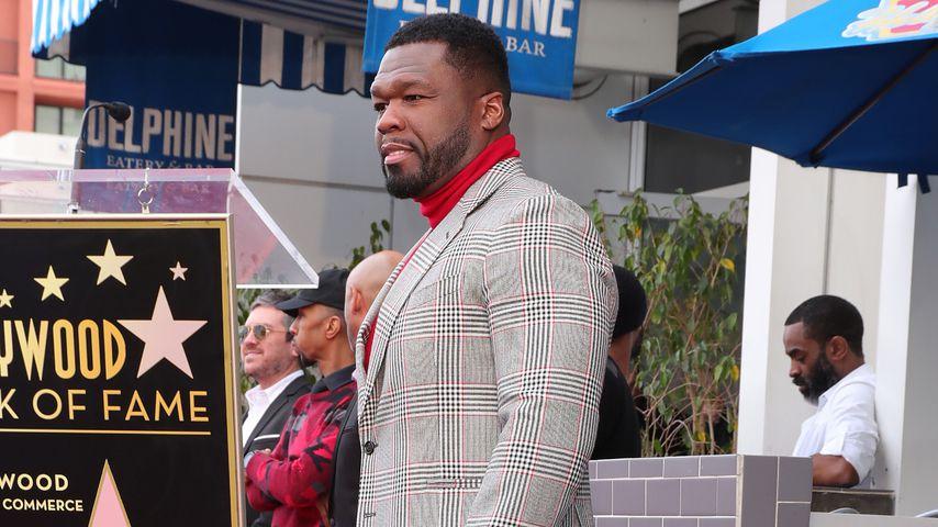 50 Cent auf dem Hollywood Walk of Fame 2020