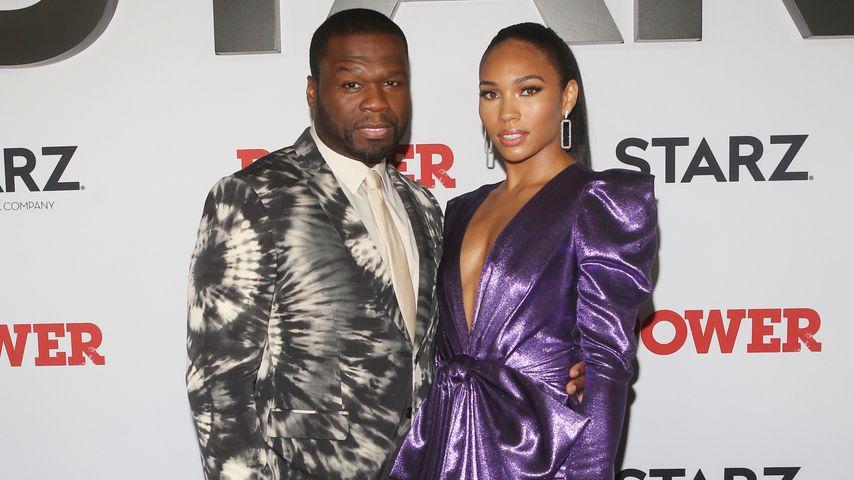 50 Cent und Jamira Haines auf einem Event in New York im August 2019