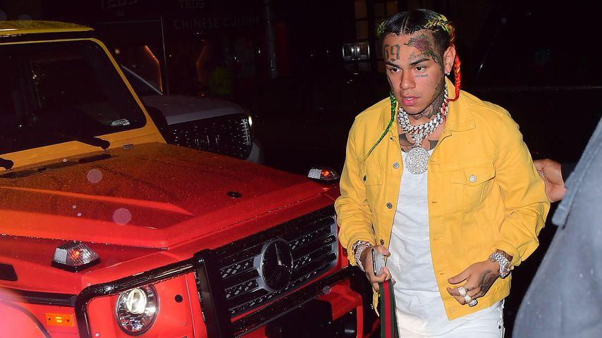 Rapper 6ix9ine in New York im September 2018