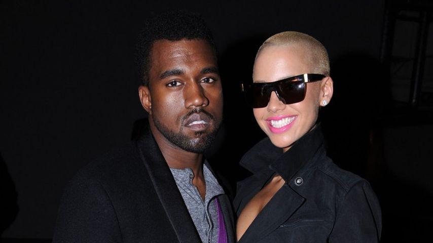 Millionen-Schweigegeld verlangt: Amber Rose erpresst Kanye!