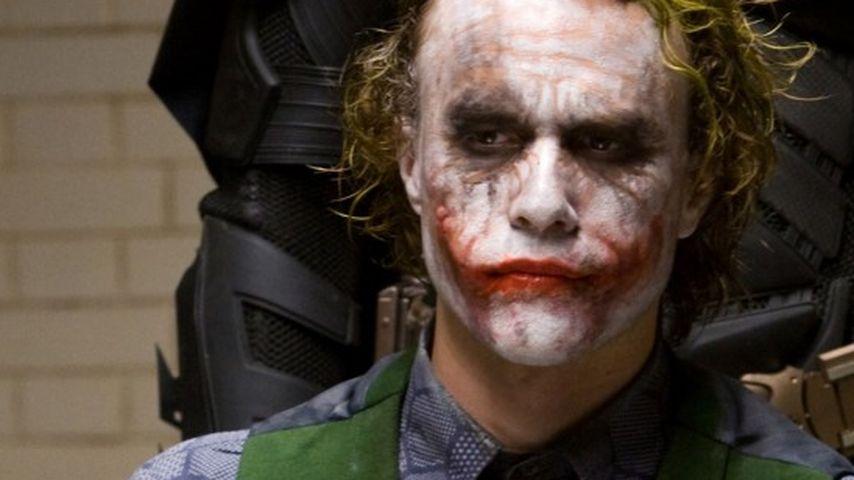 "Heath Ledger als Joker in ""The Dark Knight"""