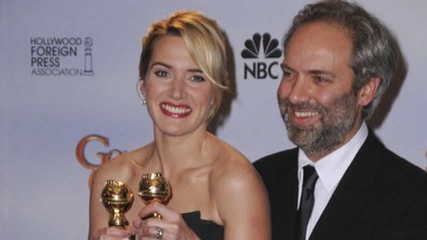 Kate Winslet mit ihrem Exmann Sam Mendes