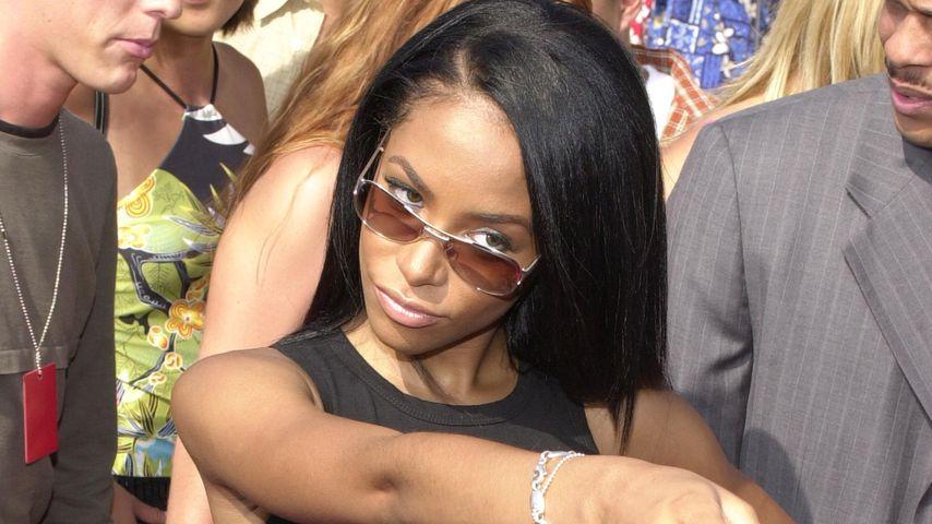 Aaliyah im August 2000
