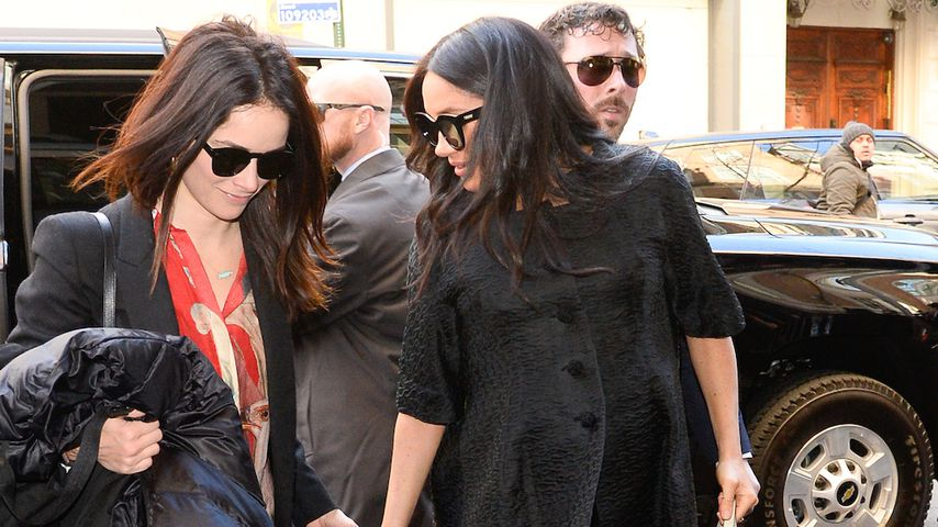 Abigail Spencer und Herzogin Meghan in New York