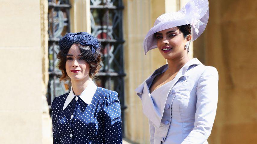 Abigail Spencer und Priyanka Chopra im Mai 2018 auf Schloss Windsor