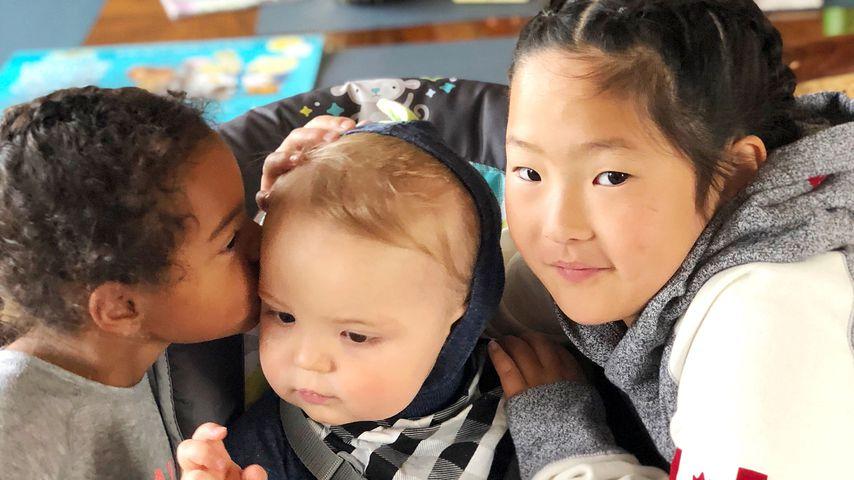 Katherine Heigls Kinder Adalaide, Joshua und Nancy