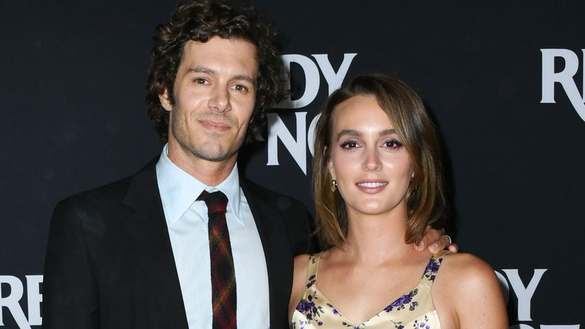 Adam Brody und Leighton Meester, August 2019