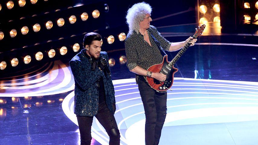 Adam Lambert und Brian May bei den Oscars 2019