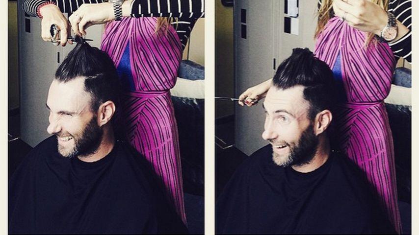 Haare ab! Behati sorgt für Frisur-Schock bei Adam Levine