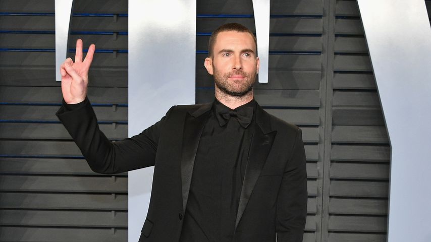 Adam Levine bei der Vanity Fair Oscar Party
