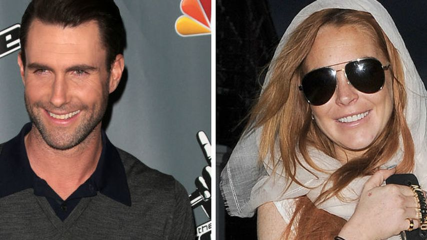Adam Levine: Ich hatte nie Sex mit Lindsay Lohan!