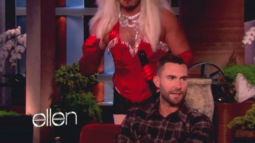 """Adam Levine von """"falscher Aguilera"""" erschreckt!"""