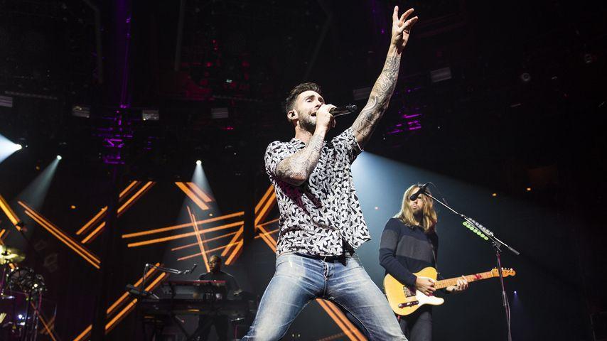 Adam Levine, Frontmann von Maroon 5
