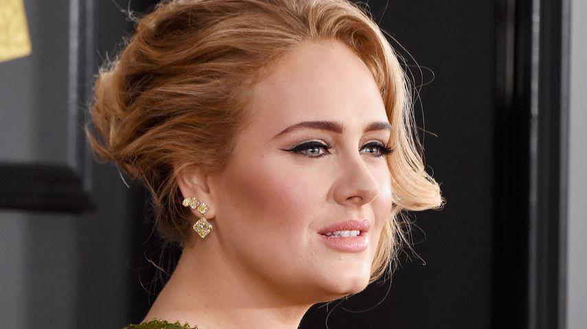Adele Adkins im Februar 2017 in Los Angeles