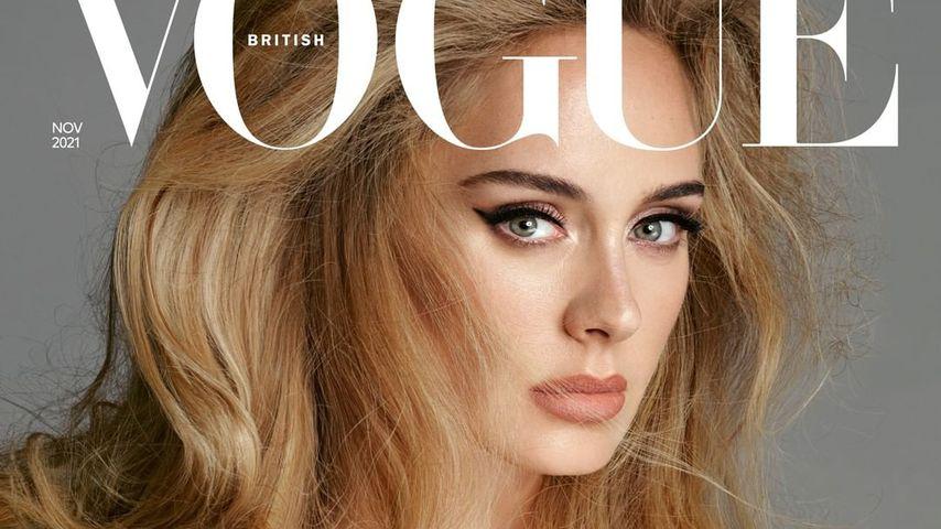 Adele auf dem Cover der November-Ausgabe der britischen Vogue