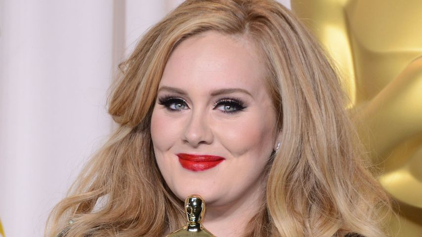 "Adele im ""Oscars-Press-Room"" in Hollywood 2013"