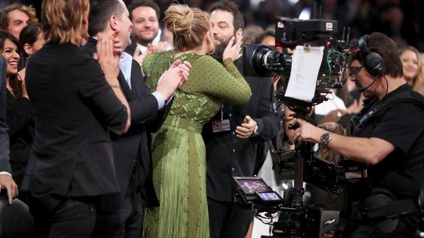 Adele und Simon Konecki bei den Grammys 2017