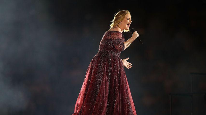 Adele bei einem Auftritt im März 2017