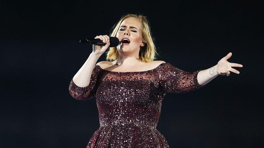 Adele bei einem Konzert in Sydney