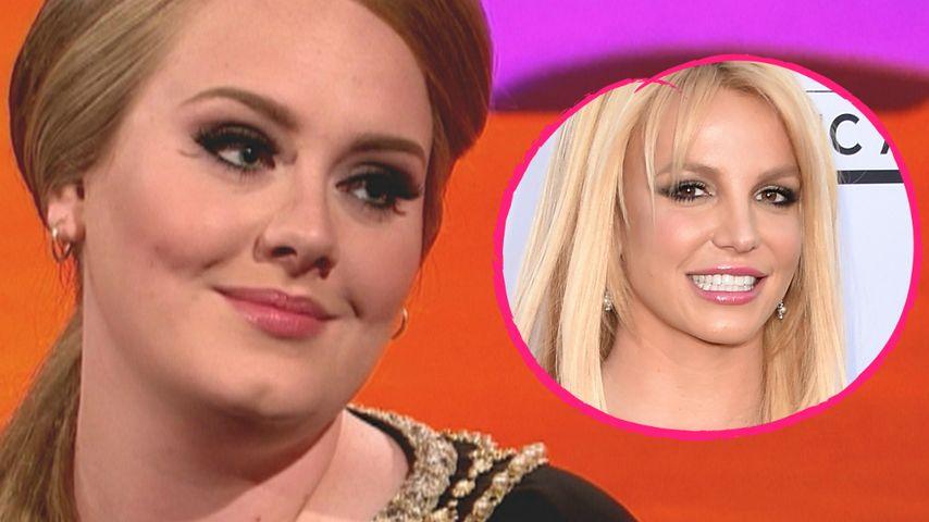 """Waschechter Fan: Adele liebt ihre """"Königin"""" Britney Spears"""