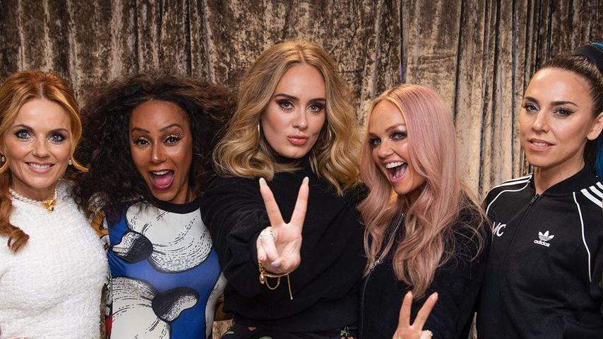 Nach Konzert: Adele und die Spice Girls machten einen drauf