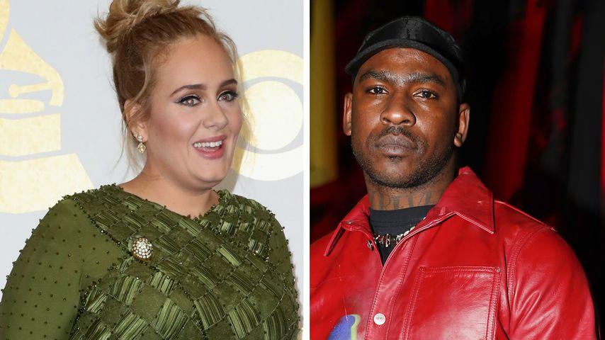 Wird es zwischen Adele und Rapper Skepta bald richtig ernst?
