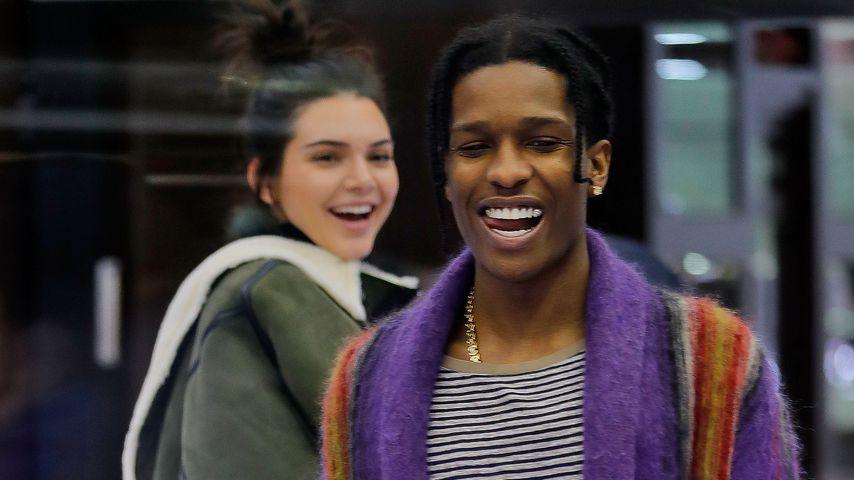 A$AP Rocky blödelt kurz nach Entlassung mit Ex Kendall herum